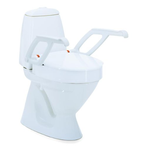 Invacare Aquatec 90000 Toilettensitzerhöhung weiss Höhe 10 cm