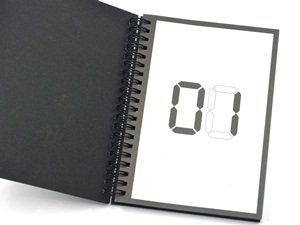 Cosmos 3D Grenade Notebook with Key Ring holder with Cosmos Fastening Strap Photo #5