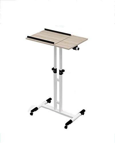 Mesa plegable para ordenador portátil, portátil, mesa simple con aprendizaje para usar mesita de noche en el hogar, 1