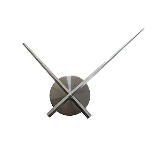 YHYMY DIY Espejo acrílico Reloj de Pared Relojes de Bricolaje Reloj Pegatinas de Pared Aguja de Cuarzo Esfera de Metal Sala de Estar decoración Moderna para el hogar | Relojes de Pared
