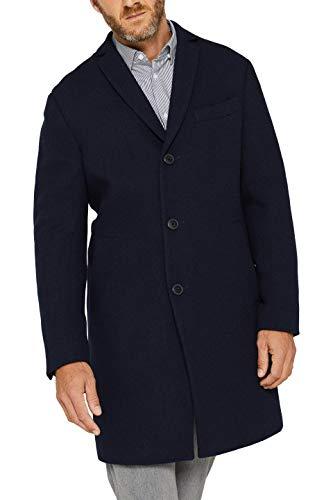 ESPRIT Herren 099EE2G007 Mantel, Blau (Navy 400), XX-Large (Herstellergröße: 54)