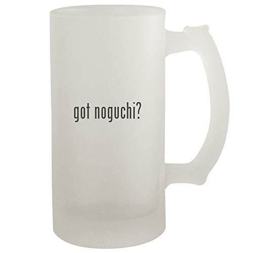 got noguchi? - Frosted Glass 16oz Beer Stein