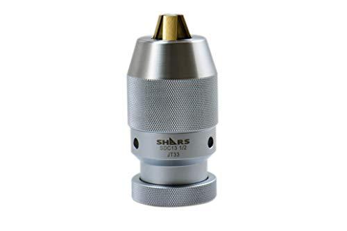 Tegara SDC13 1/32-1/2 in JT33 CNC High Precision Heavy Duty Keyless Drill Chuck 202-4967 P[