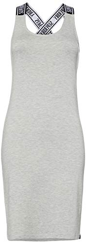 Superdry City Jacquard Bodycon Dress Vestido, Gris (Grey Marl 07q), XL para Mujer