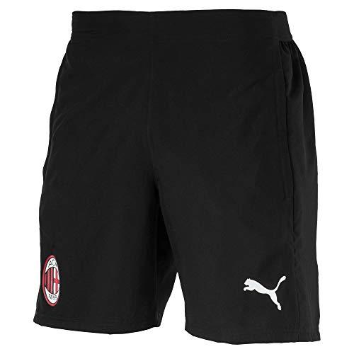 Puma 2018-2019 AC Milan Woven Shorts (Black): Amazon.es: Deportes ...