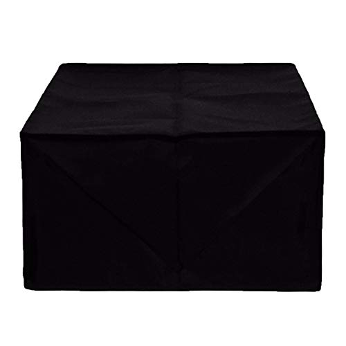 LDGF Furniture Set Covers Black Patio Furniture Covers Cloth for Office Printer Washable Cloth Waterproof Polyester Fiber Black 50x45x30cm (Color : Black, Size : 305045cm)