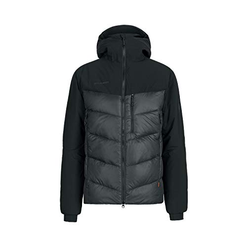 Mammut Herren Rime Pro Hybrid Hooded Daunenjacke, Black, XXL