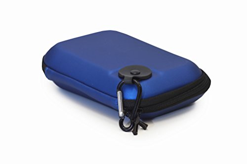 EMR Shielding Solutions Hard Carrying Case EVA Carrying Case (Blue) for RF Explorer Models, 6-Inch GPS, Electronic Devices, Accessories