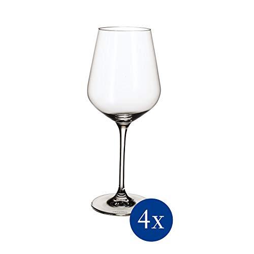 Villeroy & Boch La Divina Weissweinkelch, Set 4tlg. Glasset, Glas, 4-teilig, 4