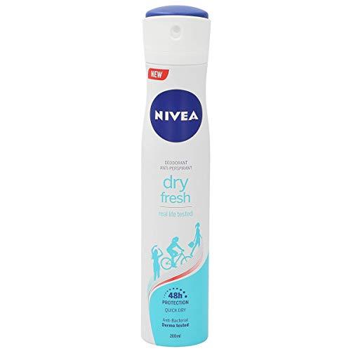 Nivea Dry Fresh Spray Desodorante Antitranspirante, 200ml