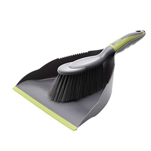 Guangcailun 2pcs / Set de plástico Limpieza del Polvo de la Escoba Conjunto de Paneles portátil Escoba Conjunto de Paneles Teclado del Ordenador portátil Cleaner Tool Kit recogedor Escoba