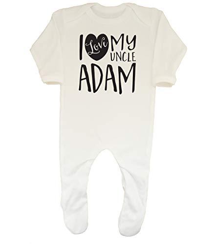 Shopagift Baby Personalised I Love My Uncle Sleepsuit Romper...