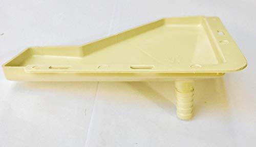 iNNOVATiON ENTERPRiSES Plastic Window AC Drain Tray/Waist Water Collector for Window AC 0.75/1/1.5/2 Ton (67.5x34.2 cm, Yellow)