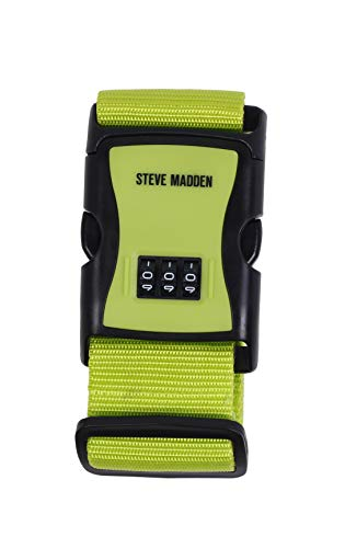 Steve Madden Luggage PP Luggage Tie Strap (Lime)