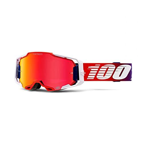 Desconocido 100% Armega X-Ray Hiper - Gafas de sol (lente plateada)