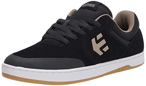 Etnies Men's Marana Low Top Sneaker Shoes Navy/Tan 10.5