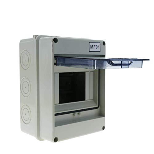 BeMatik - Caja de distribución eléctrica SPN 5M IP65 de Superficie de plástico ABS HT