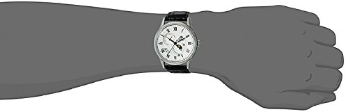 Orient Herren Analog Automatik Uhr mit Leder Armband FAK00002S0 - 4