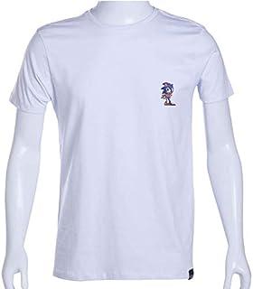 Camiseta Branca Sonic The Hedgehog Pixel Impaciente