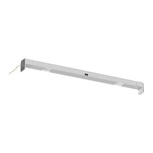 IKEA OMLOPP LED Lichtleiste für Schublade; in aluminiumfarben; (36cm); A+