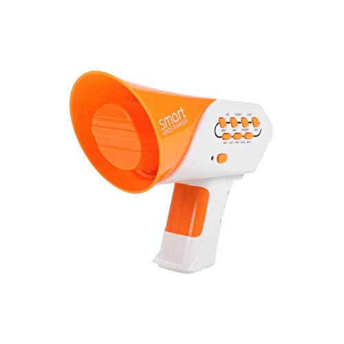 Cambiador de voz de bocina de juguete para niños, con función de megáfono, multicambiador de voz, efectos de sonido, megáfono, altavoz para niños, regalo