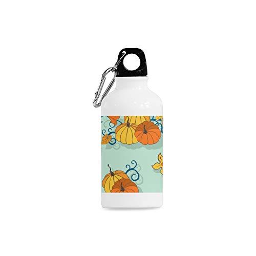 WJJSXKA Outdoor Simple Fashion Travel Fruit and Vegetable Harvest Sweet Print Design Sport Water Bottle Aluminum Stainless Steel Bottle Aluminum Sport Water Bottle