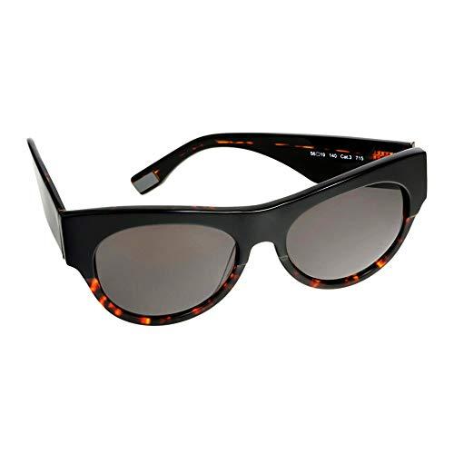 s.Oliver Black Label Damen Sonnenbrille mit UV-400 Schutz 56-19-140-99855, Farbe:Farbe 2