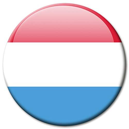 Kühlschrankmagnet Luxemburg Flaggen Magnet Länder Reise Souvenir Flagge für Kühlschrank stark groß 50 mm