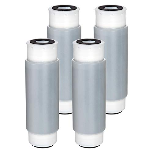 Waterdrop AP117 Whole House Water Filter, Compatible with 3M Aqua-Pure AP117 Drinking Water System, Whirlpool WHKF-GAC for Chlorine, Dirt and Rust Reduction, Pack of 4