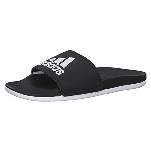 adidas Damen ADILETTE COMFORT Aqua Schuhe Schwarz (ftwwht/cblack Cg3427), 40.5 EU