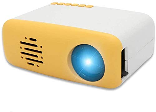 Levoty Mini Pocket Portable HD LED Projector, Private Home Cinema Theater Outdoor Movie TV, Pico Projectors Support Laptop /PC /Smartphone HDMI Input, Air Small Projector for Home /Party /Camping