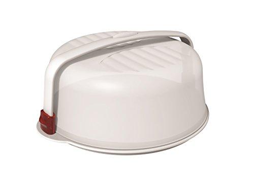 Piatto Torta Biesse 32 Trendy Bianco/Rosso 0992