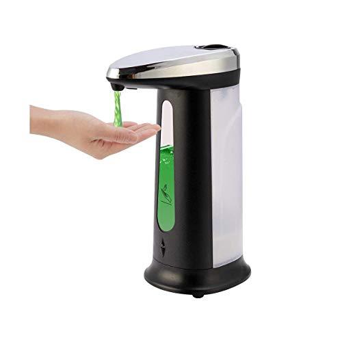 XIXIDIAN Dispensador de jabón, dispensador de jabón de Mano eléctrico sin Contacto, Bomba automática del dispensador de jabón para la Cocina de baño de Oficina 400 ml