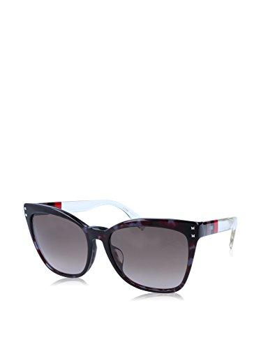 Fendi FF 0098/F/S E8M/HA-57-17-140 Fendi Sunglasses Ff 0098/F/S E8M/Ha-57-17-140 Schmetterling Sonnenbrille 57, Mehrfarbig