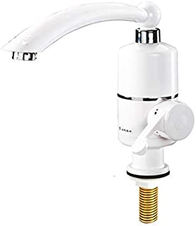 Instant Electric Hot Water Faucet Speed Heating Kitchen Tap Water Water Heater Hot and Cold (Color : C)