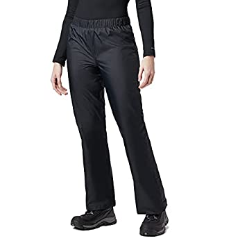 Columbia Women s Standard Storm Surge Waterproof Rain Pant Black X-Large