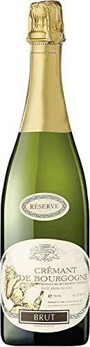 Caves de Marsigny Crémant de Bourgogne Schaumwein Brut Réserve AOC Vegan Frankreich (6 Flaschen)