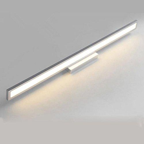 WWWANG Espejo LED de la luz Delantera de baño Espejo de baño...