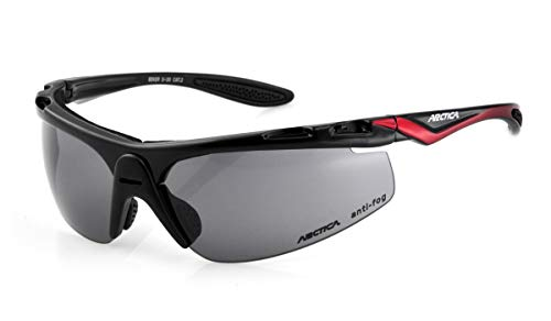 Arctica Sportbrille, Sonnenbrille Biker S-30 + 2 Paar Gläsern