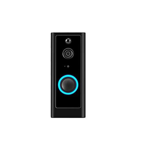 Video deurbel deed vervangt uw kijkgaatje met HD-video met intercom functie voor deurdikte,2