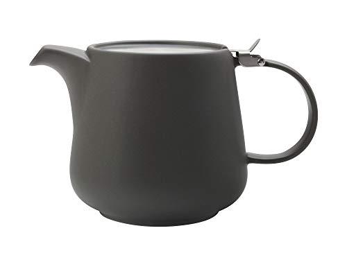 TINT Teekanne 1200 ml, Dunkelgrau, Keramik/Edelstahl / Maxwell & Williams