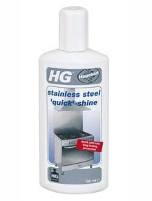 HG Stainless Steel Quick Shine. 125ml. by HG
