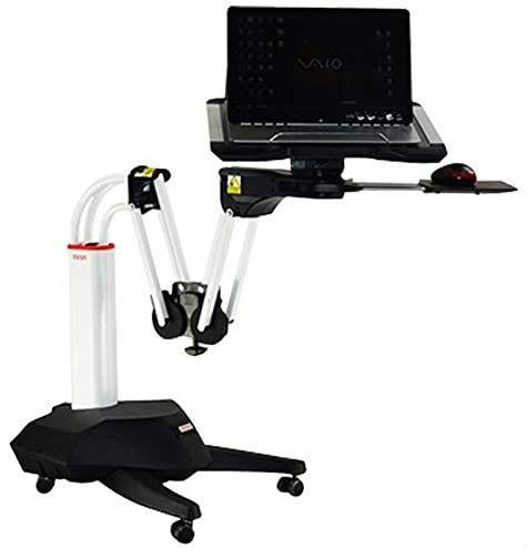 Kesrer01 Full Motion Long Arm Multifunctional Moving Laptop Desk Sofa Bedside Notebook Stand Lazy Lift Rotating Computer Table