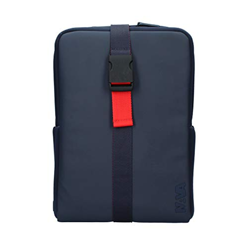 Zaino Nava flat organizzato medio 15.6'' FT070 blue/red