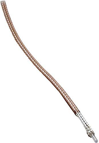 BKL ELECTRONIC Câble coaxial 1511006/25 Ø extérieur: 1.80 mm RG178 B/U 50 Ω Transparent 25 m