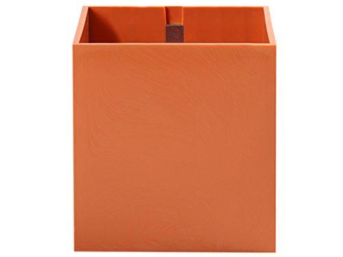 Pot aimenté Kalamitica cube 9cm Couleur Orange
