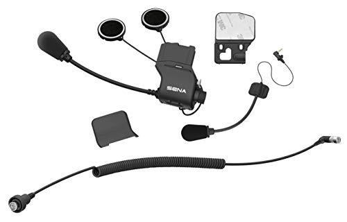 Sena SC-A0317 Universal Helmet Clamp Kit for CB/Audio of Honda Goldwing, 20S EVO, 30K, Black, Standard Size