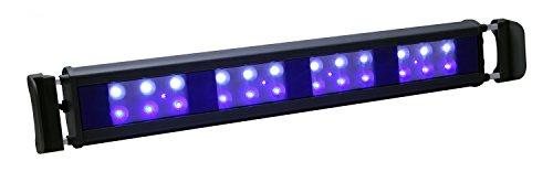 Innovadora tira de luz de color azul marino regulable DualStrip 18'-Black – 20 W