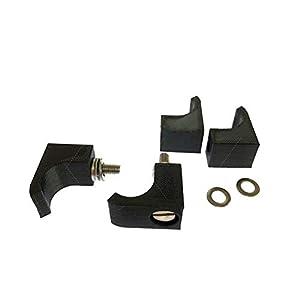 FMingNian Kit de Conector de Hebilla de Montaje de Pedal para 4pcs para Thrustmaster T3PA para Logitech G27 G29 Pedal…