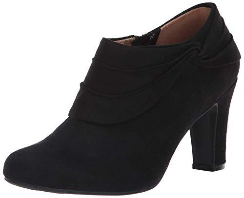 LifeStride Women's Corie Ankle Boot, Black, 7 W US